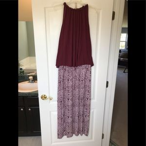 Loft maxi skirt and sleeveless top